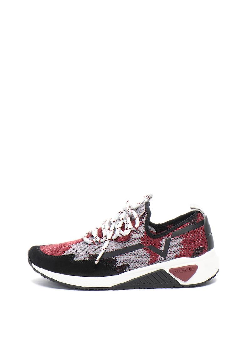Pantofi sport slip-on de plasa tricotata Kby