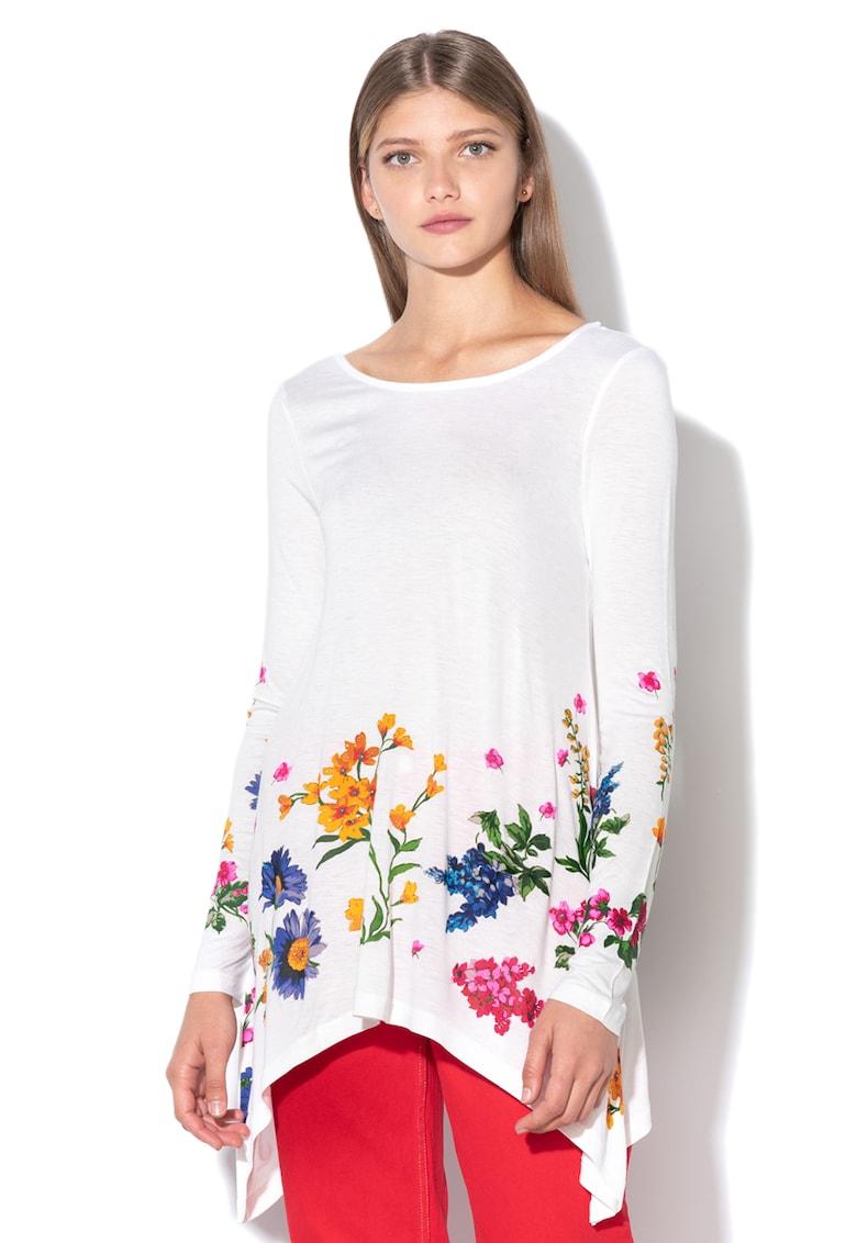 DESIGUAL Bluza cu terminatie asimetrica Corinne