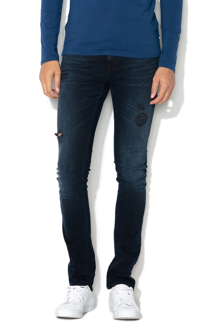GUESS JEANS Blugi super skinny fit Miami Pocket