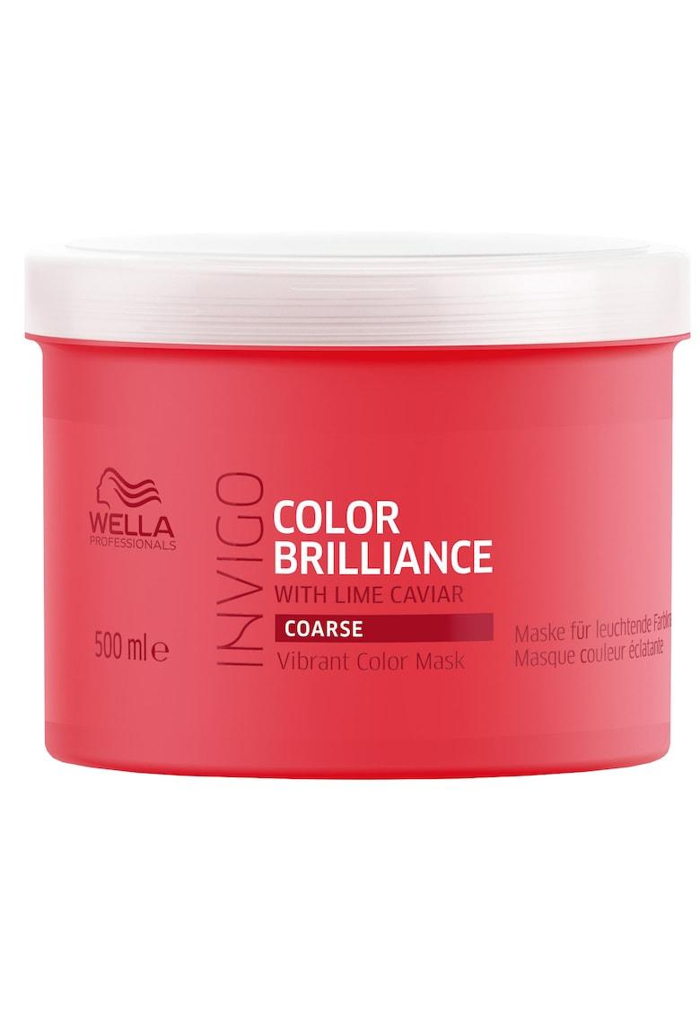 Wella Professionals Masca de par  Invigo Color Brilliance Coarse pentru par vopsit cu structura puternica
