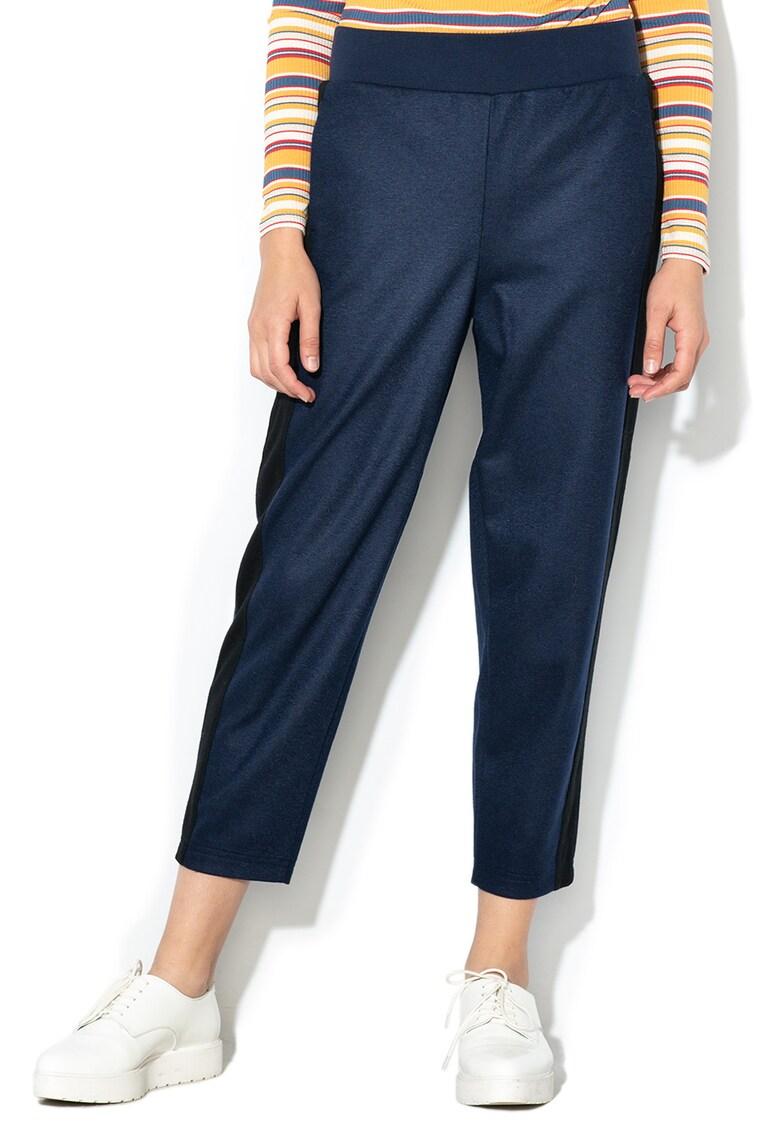 Pantaloni din amestec de lana – cu garnituri laterale de la United Colors of Benetton