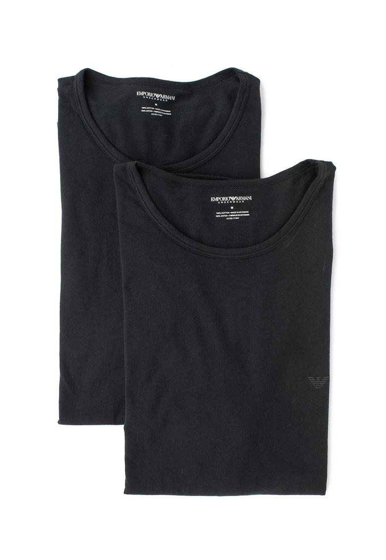Set de tricouri de casa din bumbac - 2 piese