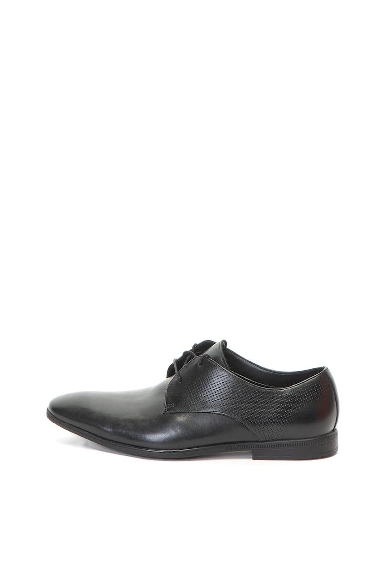 Clarks Pantofi de piele Bampton Walk