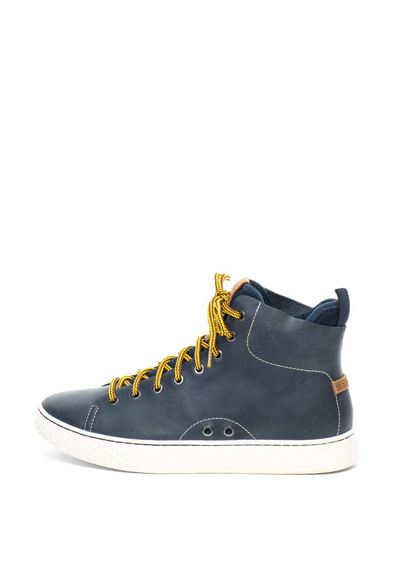Pantofi sport mid-high de piele – cu dublura din material textil Dleaney de la Polo Ralph Lauren