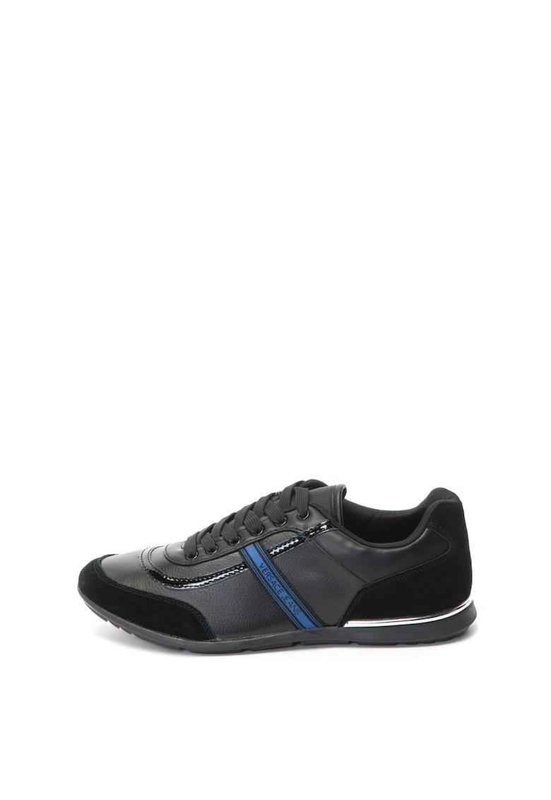 Versace Jeans Pantofi sport de piele