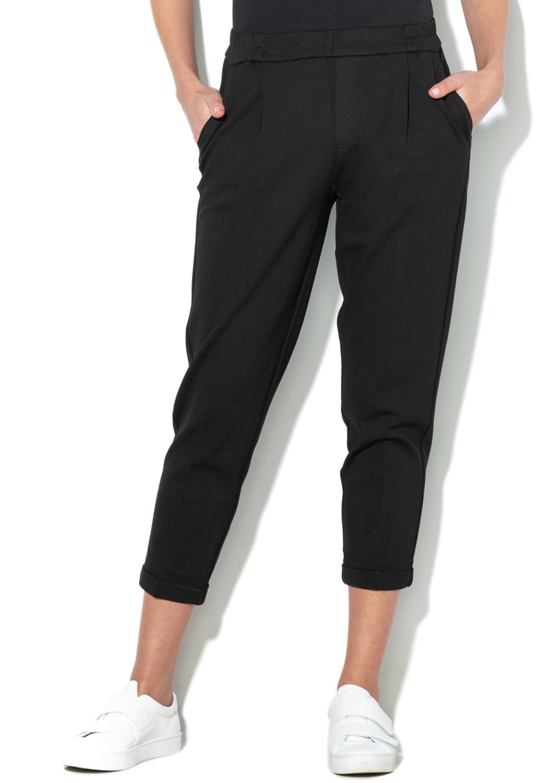 United Colors of Benetton Pantaloni cu talie inalta elastica