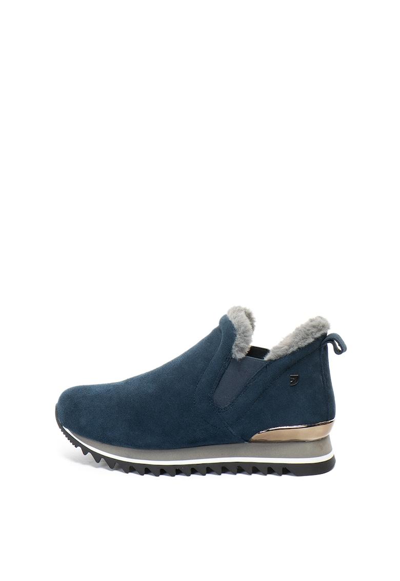 Gioseppo Pantofi sport slip-on de piele intoarsa