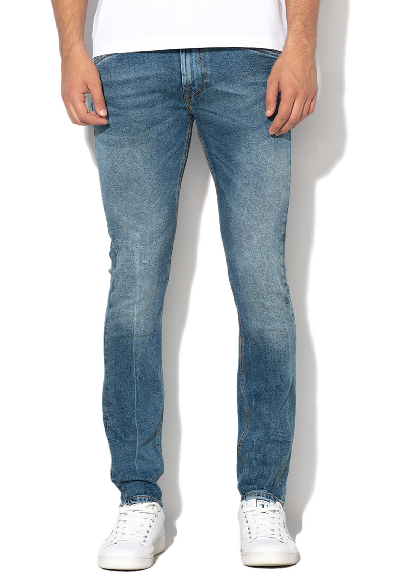 GUESS JEANS Blugi super skinny Miami Pocket