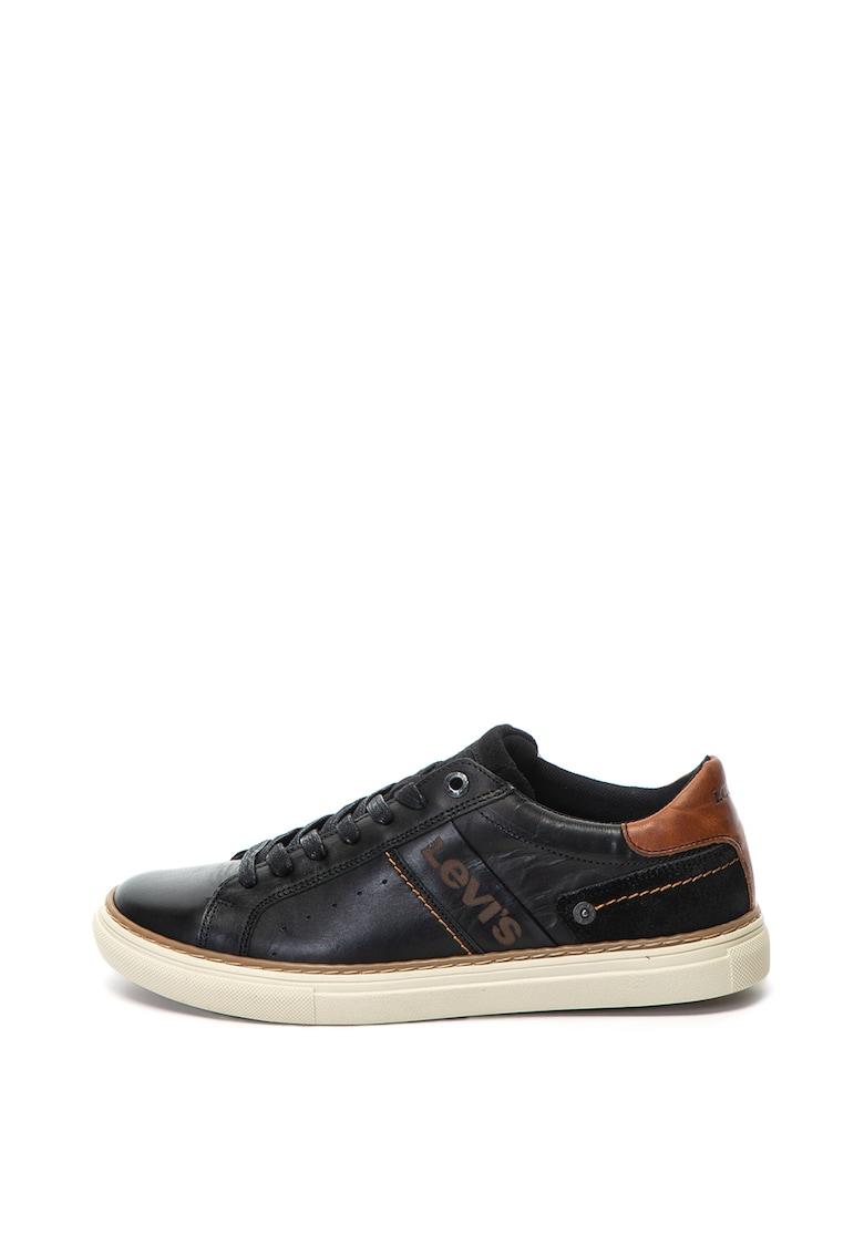 Levis Pantofi sport de piele cu brant confortabil Baker