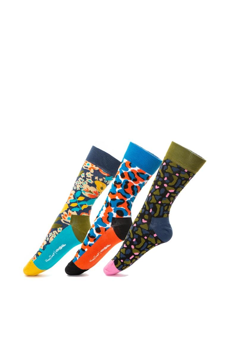 Set de sosete lungi Happy x Wiz Khalifa – 3 perechi de la Happy Socks