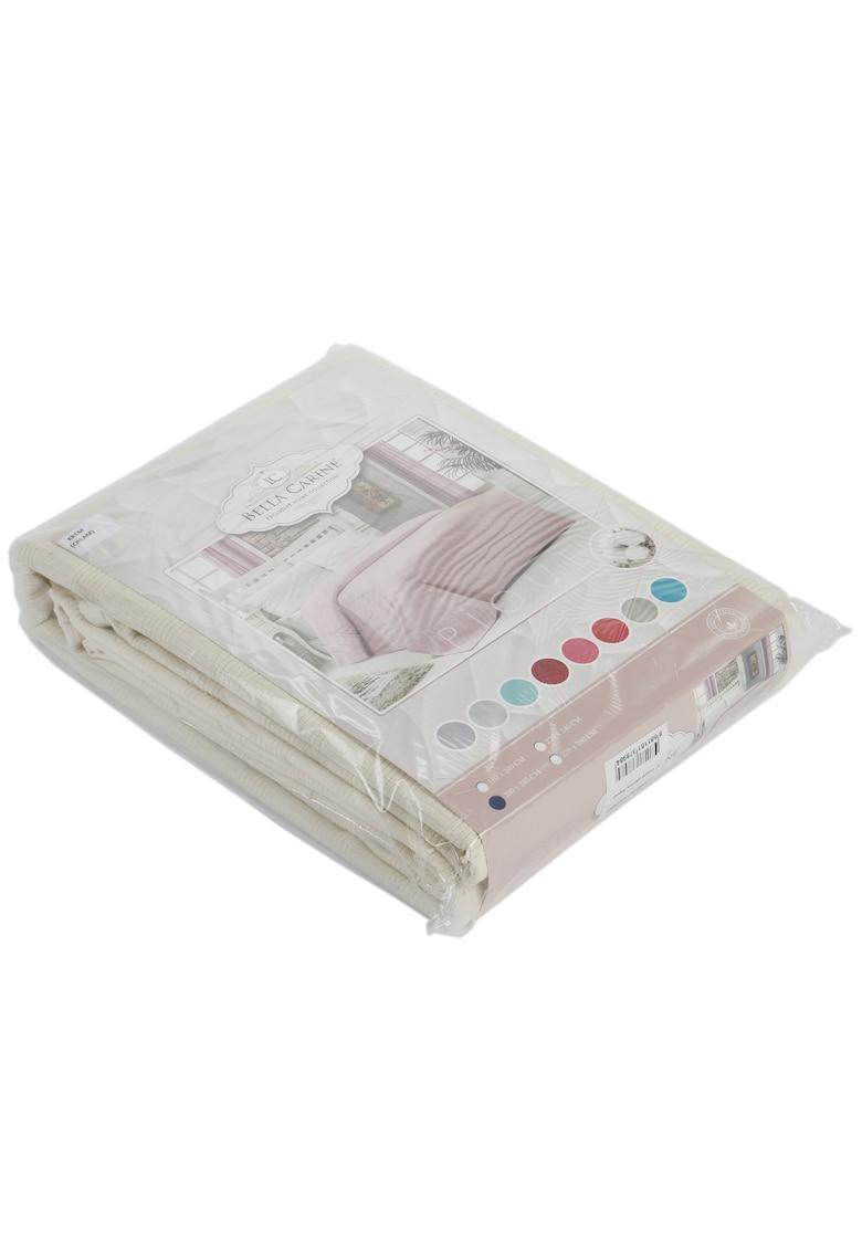 Cuvertura pentru pat Bella Carine by 100% bumbac - 200x240 cm - Crem image0