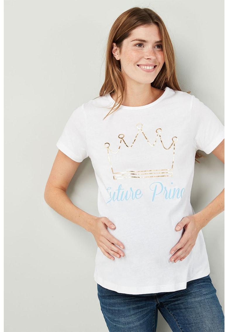 NEXT Tricou pentru gravide – cu imprimeu vegetal