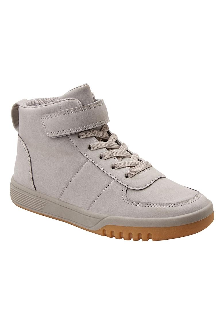 Pantofi sport inalti de piele ecologica