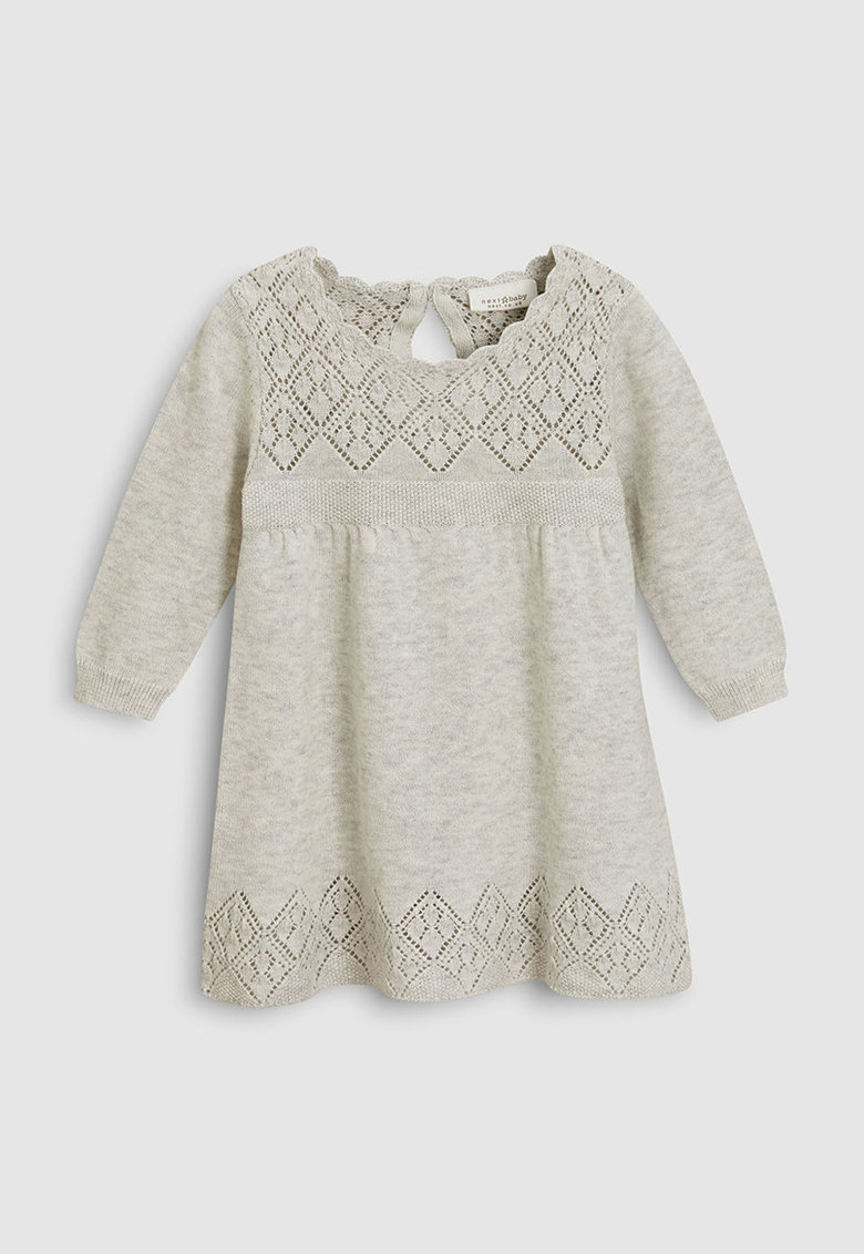 Rochie evazata de tricot