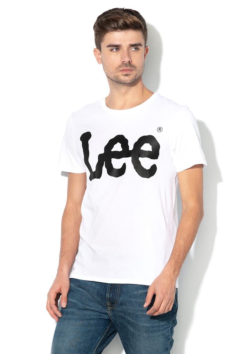 Tricou cu imprimeu logo de la Lee