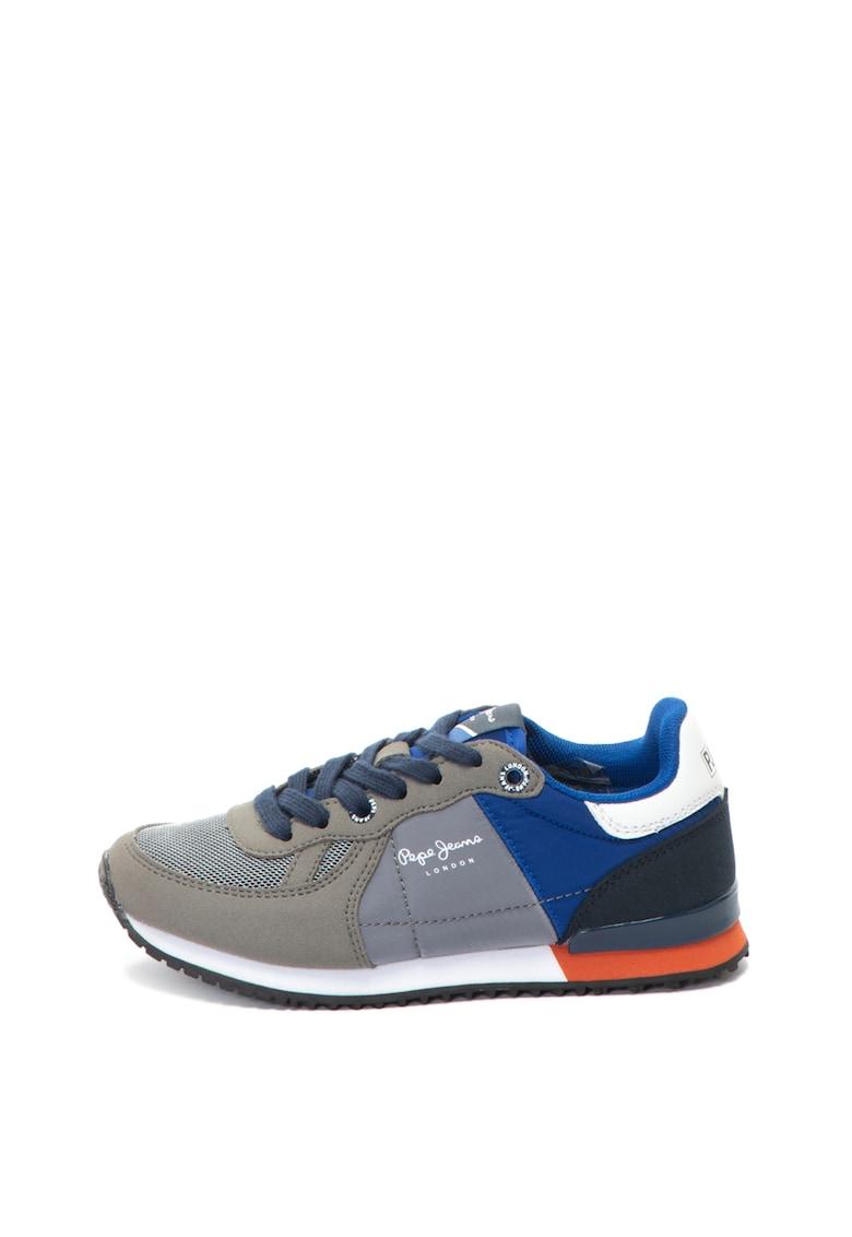 Pepe Jeans London Pantofi sport cu logo Sydney