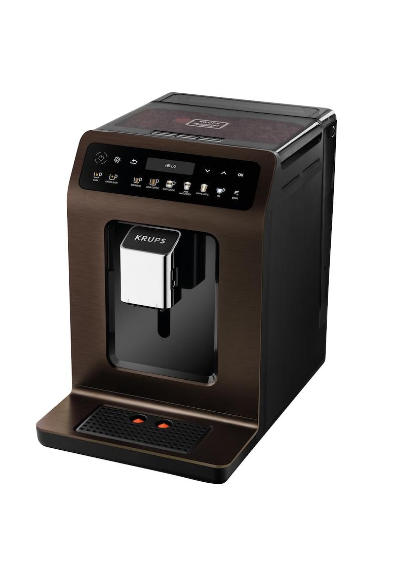 Espressor automat Evidence - 1450 W - 2.3 L - One-Touch-Cappuccino - 19 selectii - accesoriu pentru lapte - display Touch Screen - Maro