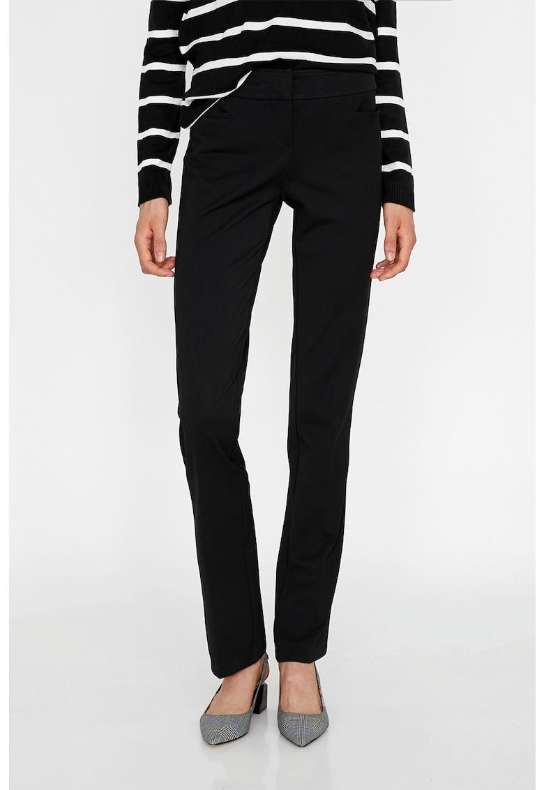 KOTON Pantaloni slim fit cu talie medie