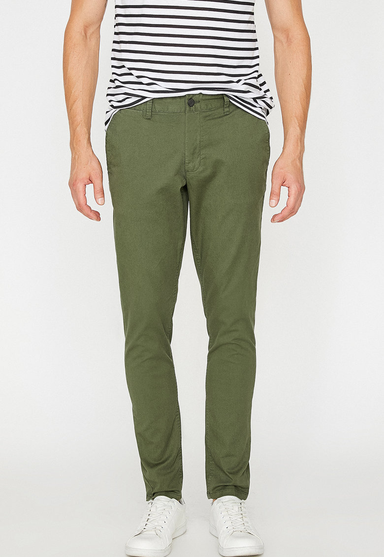 KOTON Pantaloni chino slim fit