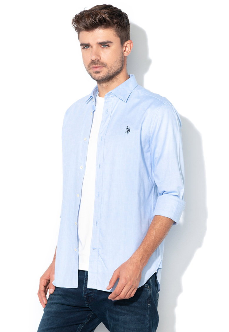 US Polo Assn Camasa regular fit – Bleu –