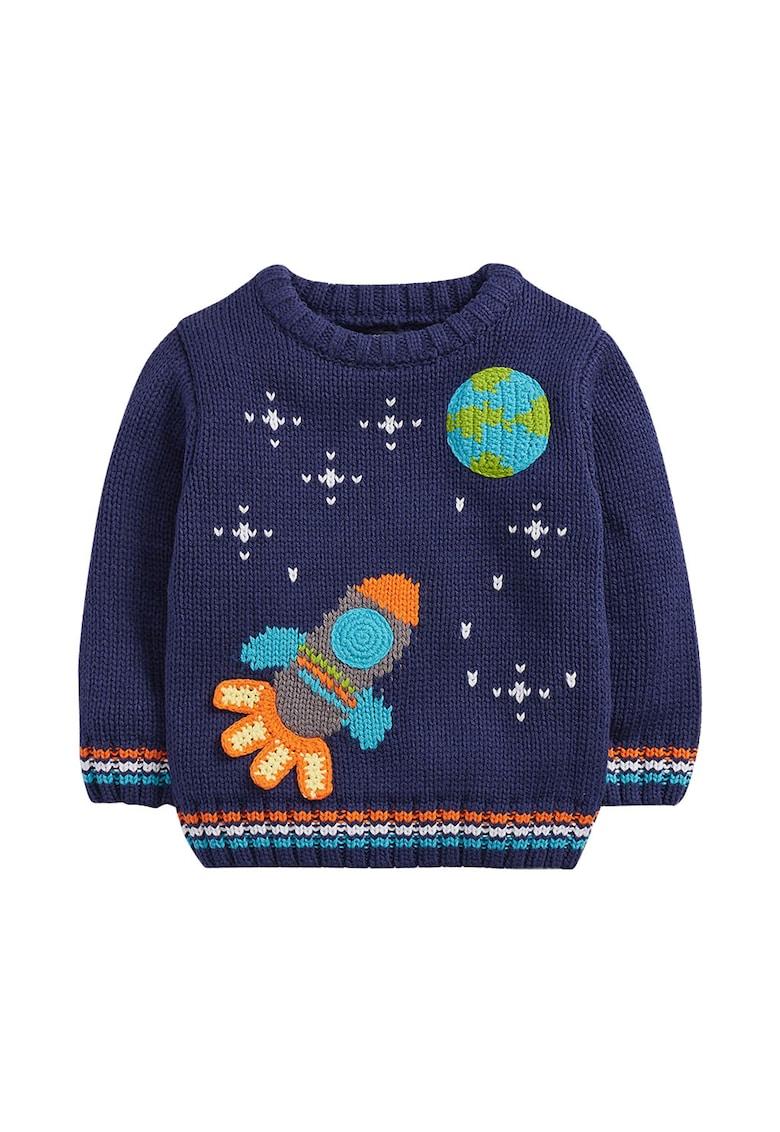 Pulover tricotat cu terminatii striate de la NEXT
