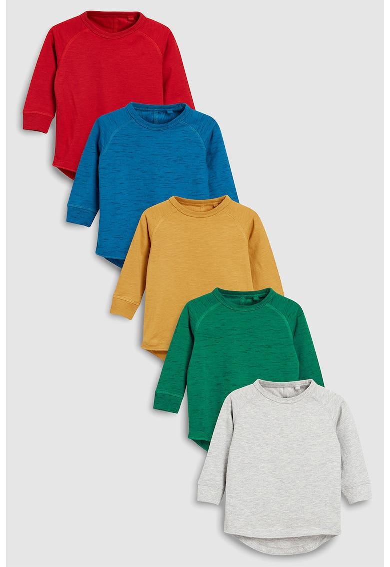 NEXT Set de bluze cu decolteu rotund – 5 piese