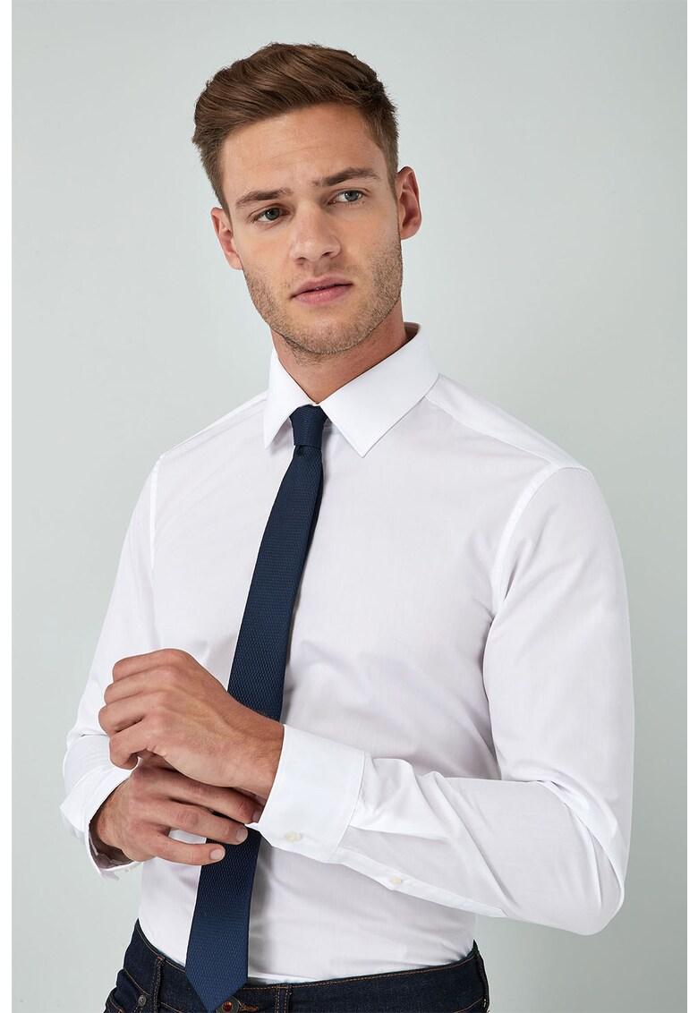 Set de camasa slim fit si cravata 3