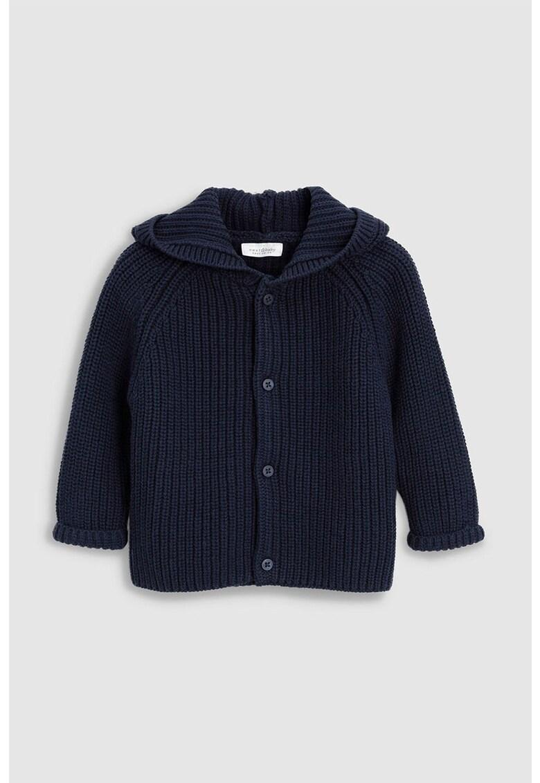 Cardigan tricotat cu gluga de la NEXT