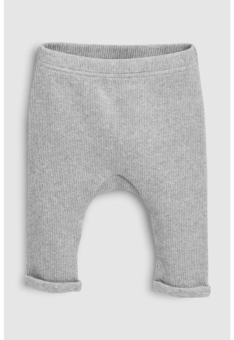 Pantaloni jogger tricotati