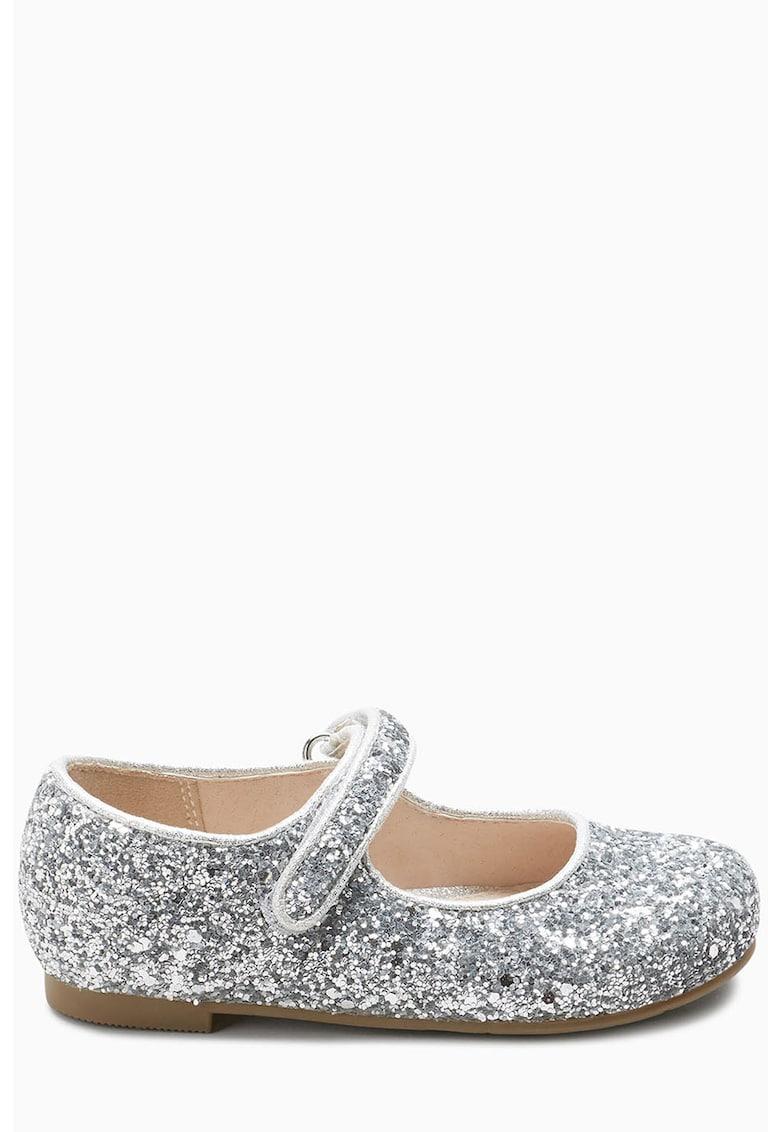 Pantofi Mary Jane stralucitori NEXT