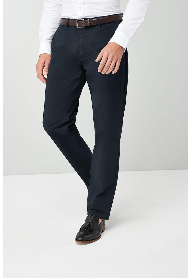 NEXT Pantaloni straight fit cu o curea