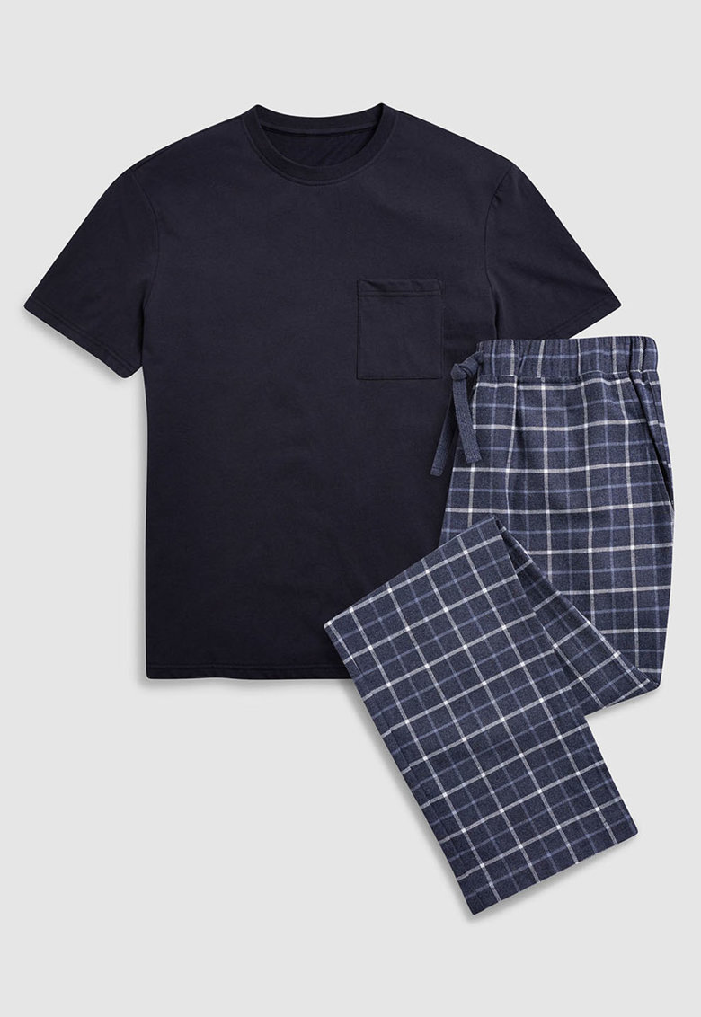 Pijama cu buzunar pe piept de la NEXT