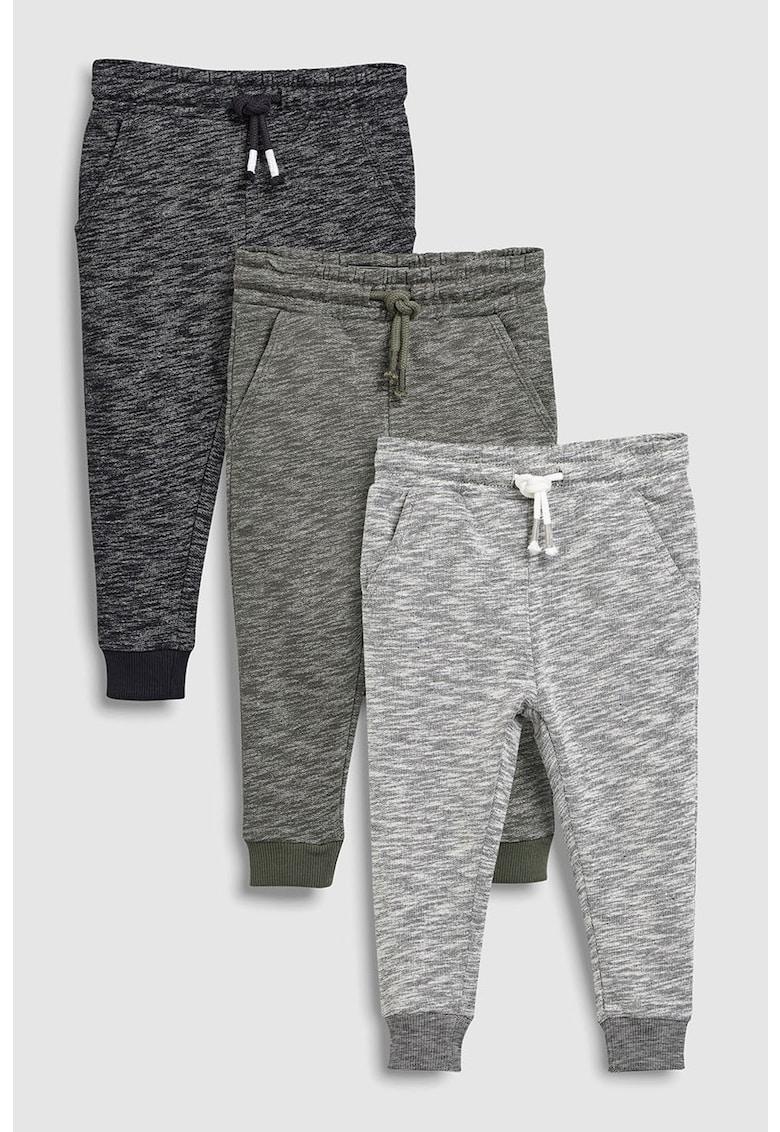 Set de pantaloni sport cu talie ajustabila cu snur – 3 perechi NEXT