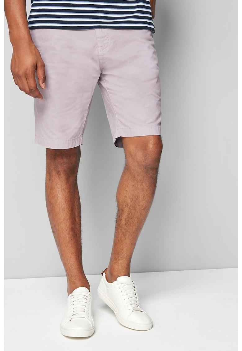Pantaloni chino scurti cu buzunare