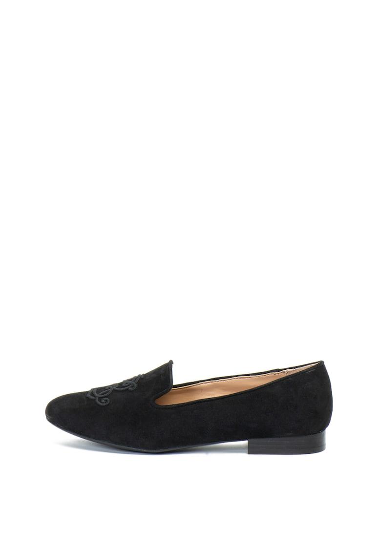 Pantofi loafer de piele intoarsa Coleena de la Lauren Ralph Lauren