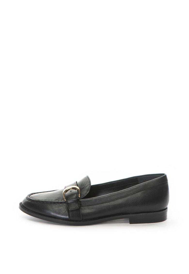 Pantofi loafer de piele Bethy de la Lauren Ralph Lauren