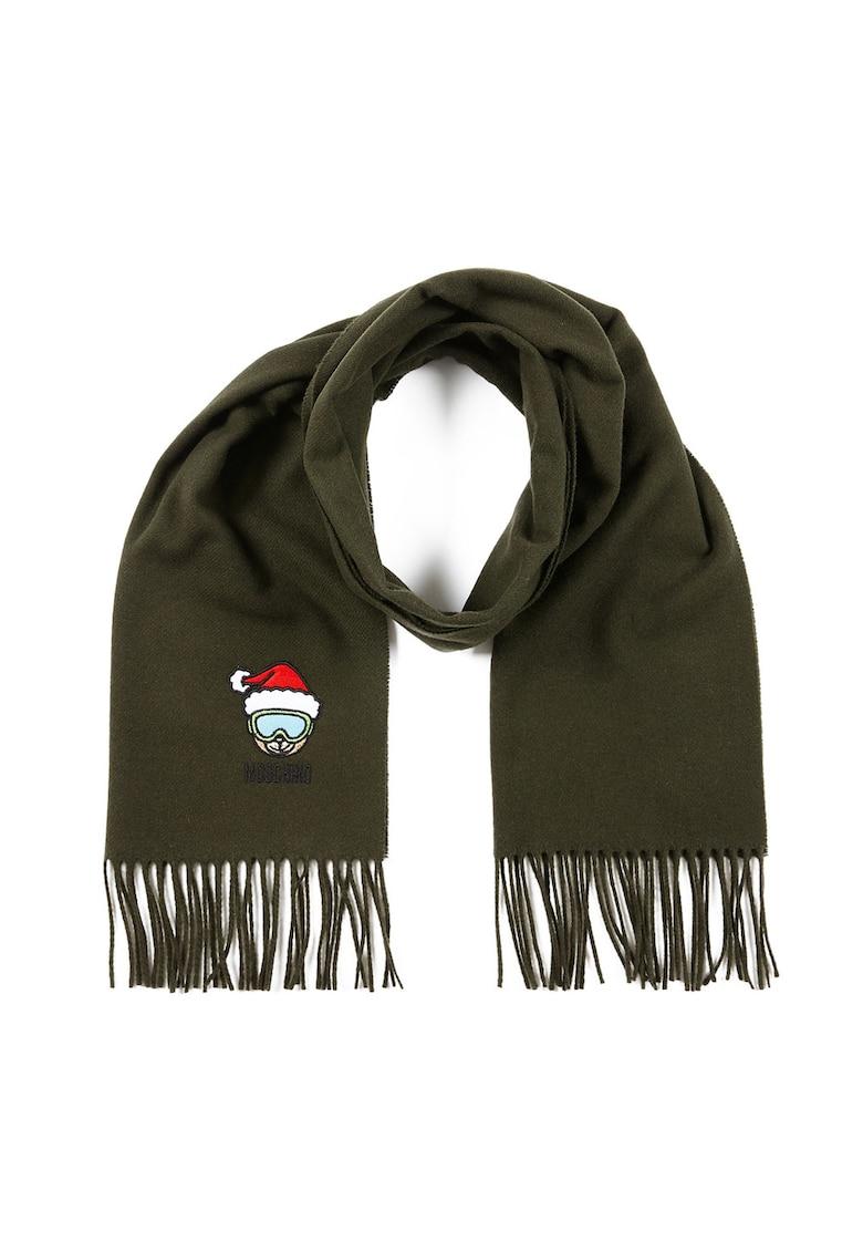 Fular de lana - cu broderie