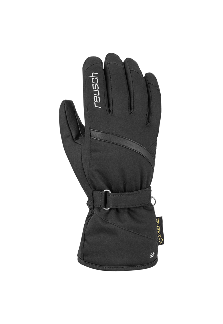 Reusch Manusi ski  Alexa GTX® - Negru/Argintiu