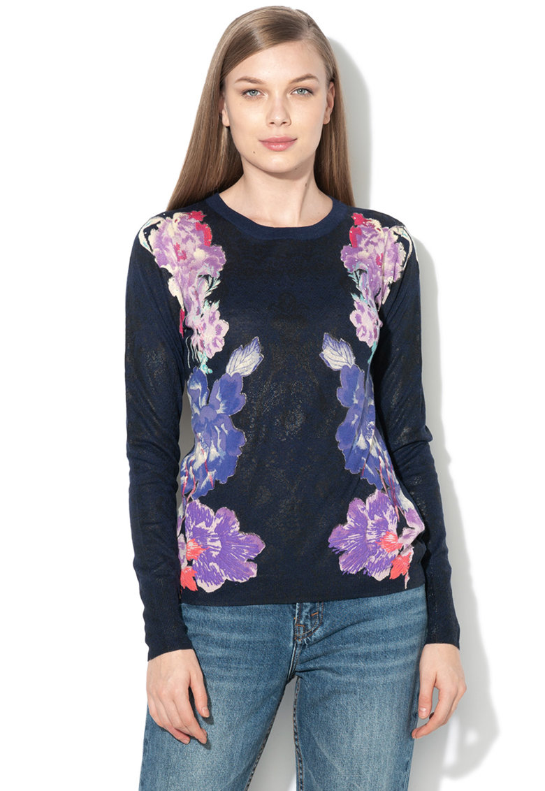 DESIGUAL Pulover cu model floral Fara