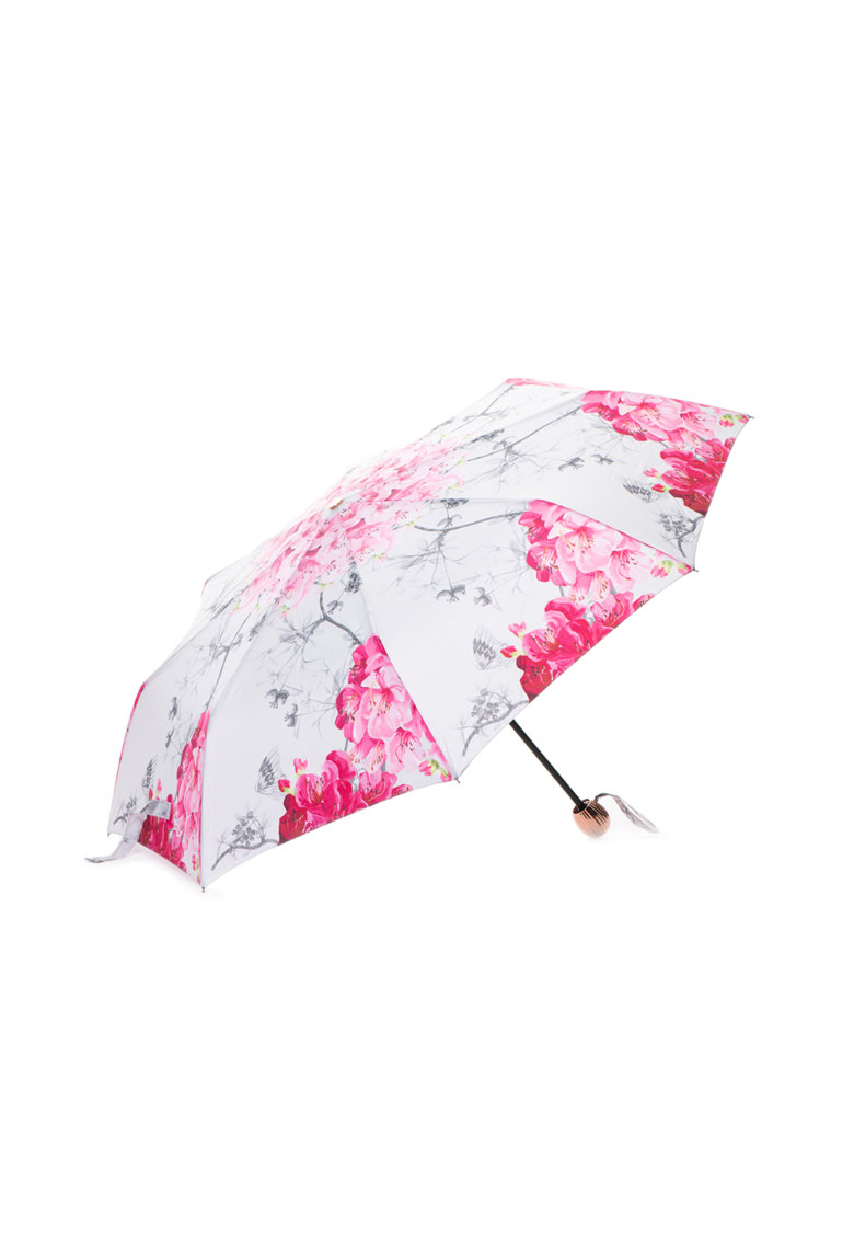 Umbrela telescopica cu model floral Pirou