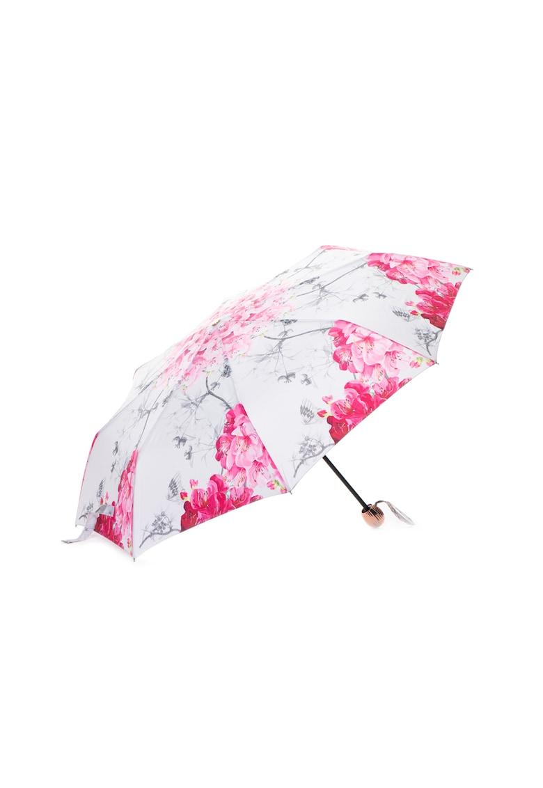 Umbrela telescopica cu model floral Pirou thumbnail