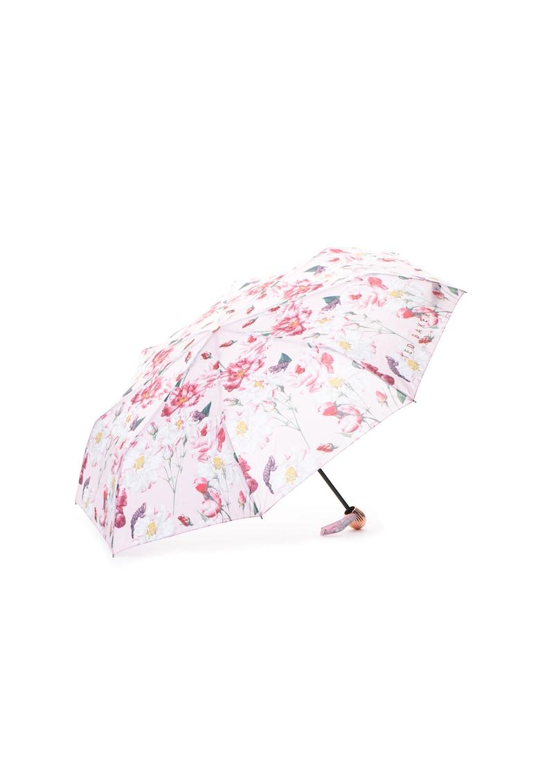 Umbrela telescopica - cu model floral Urla