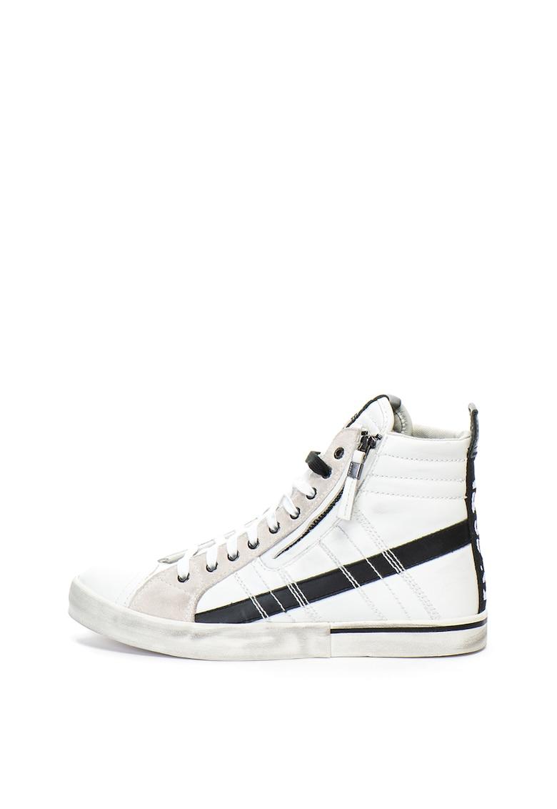 Pantofi sport mid-high de piele – cu aspect uzat Velows Diesel