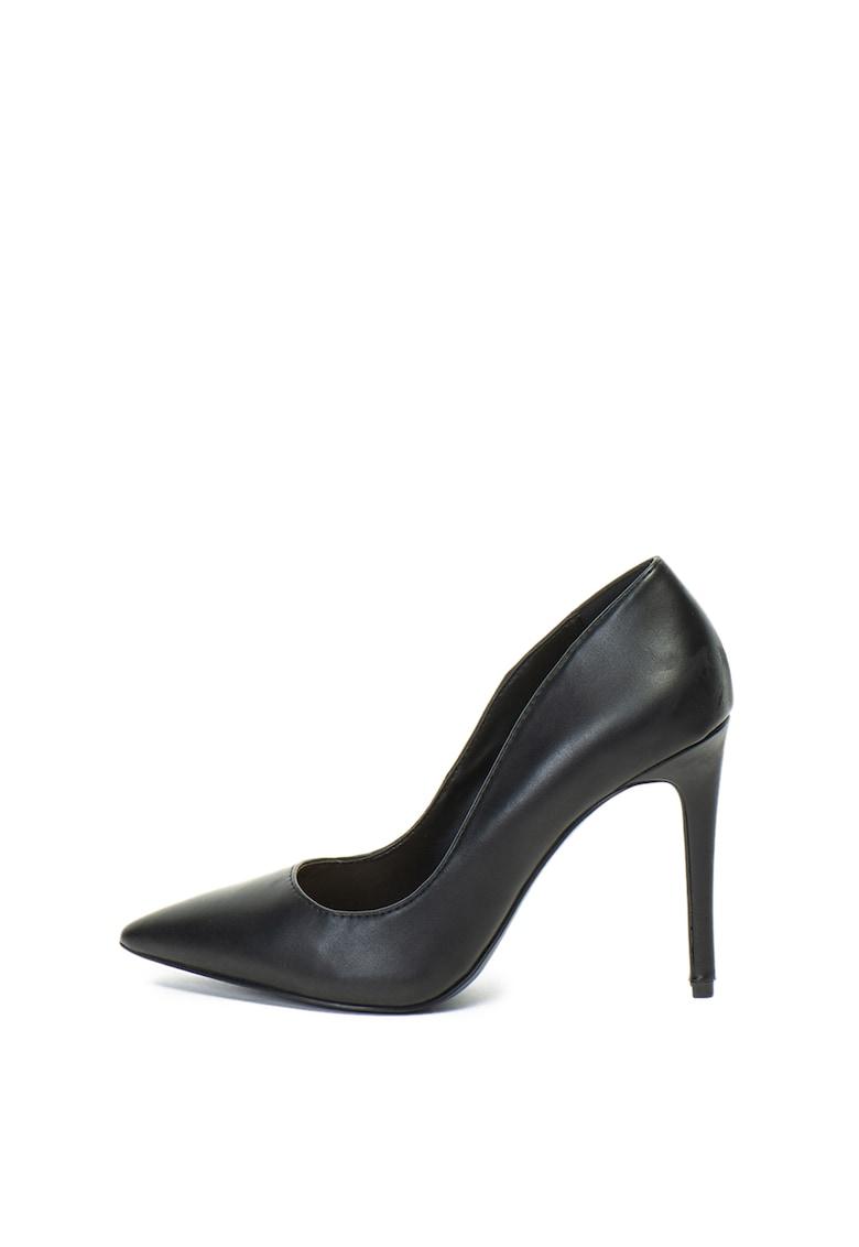 Pantofi stiletto – cu varf ascutit – de piele ecologica Mykel de la Call It Spring