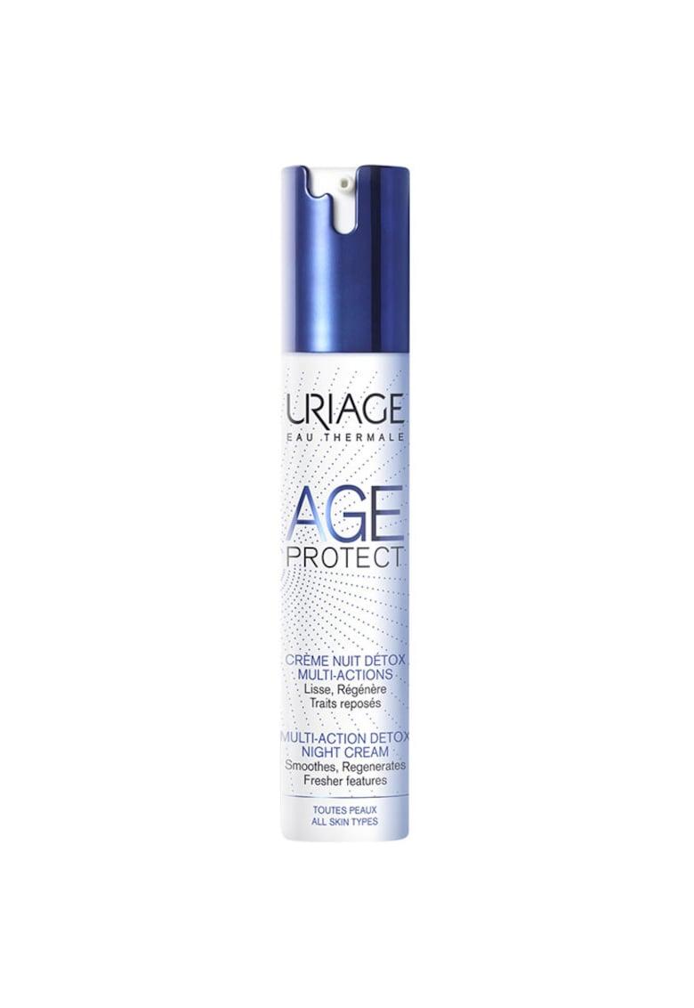 Crema de noapte  detox antiaging - 40 ml de la Uriage
