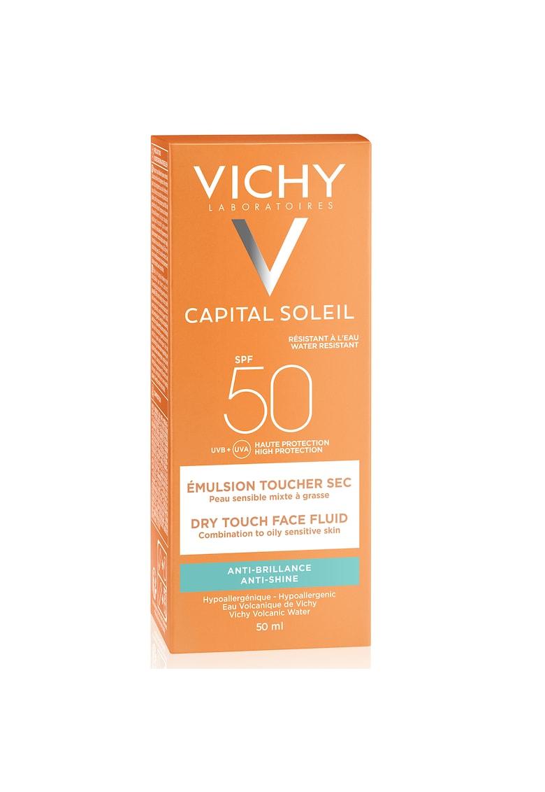 Emulsie matifianta Capital Soleil Dry Touch SPF 50 - 50 ml imagine fashiondays.ro 2021