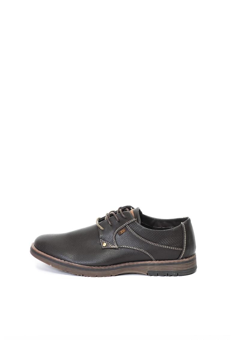 Xti Pantofi casual cu cusaturi contrastante