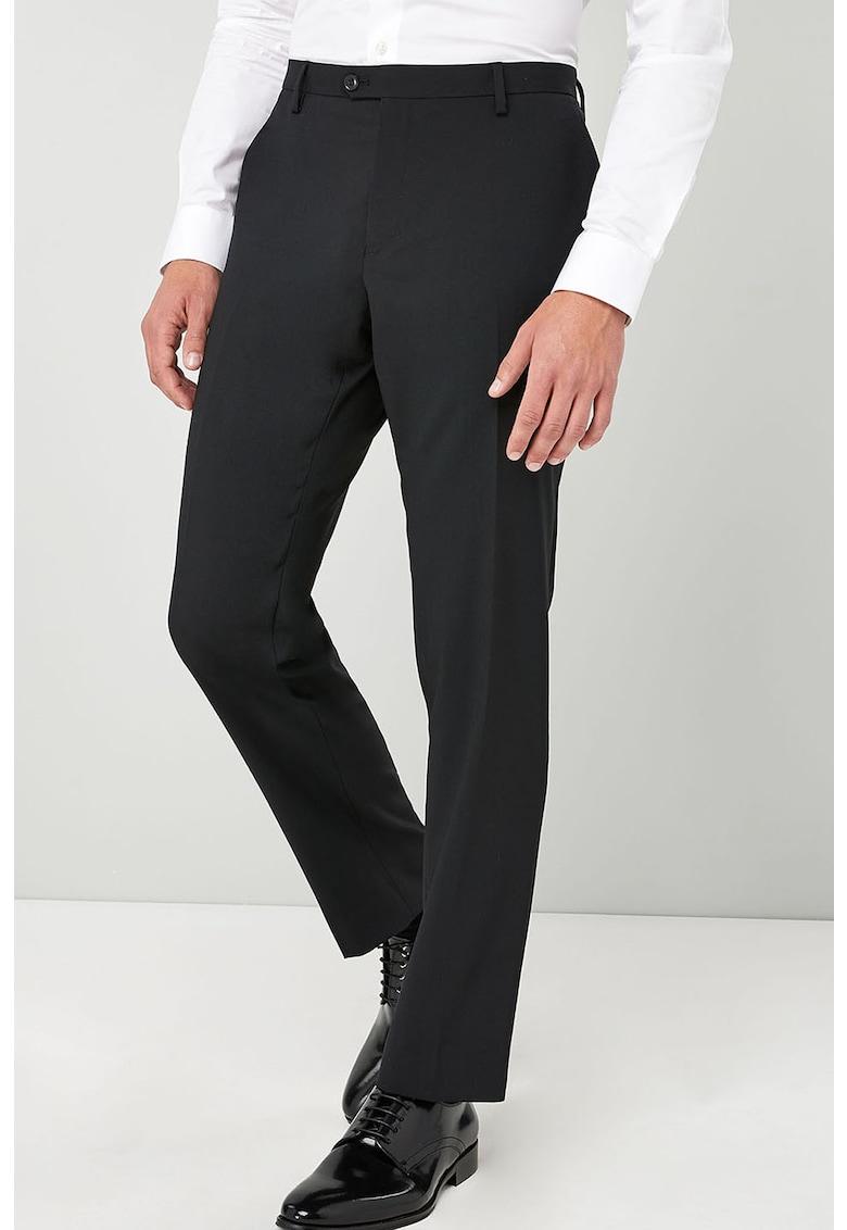 Pantaloni eleganti din amestec de lana
