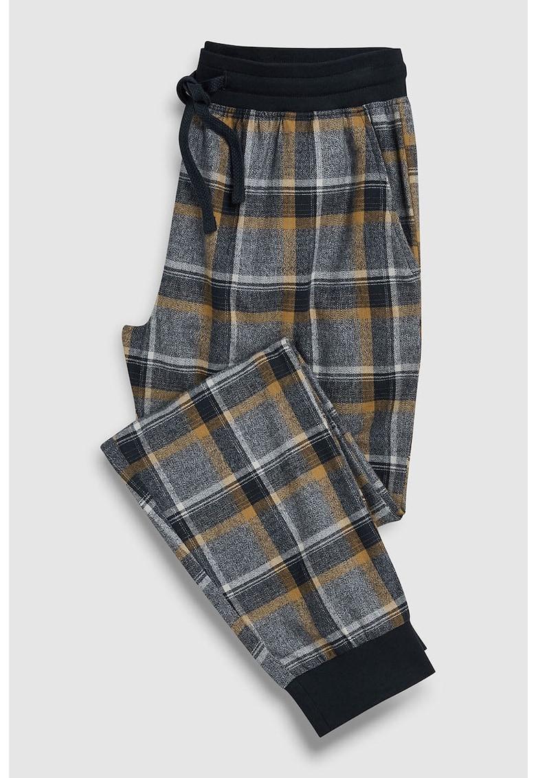 Pantaloni de pijama cu model in carouri