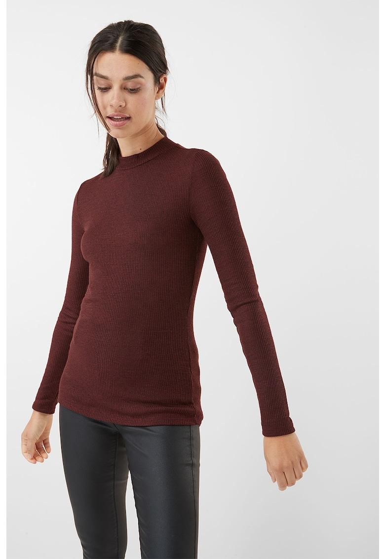 Pulover tricotat fin cu striatii